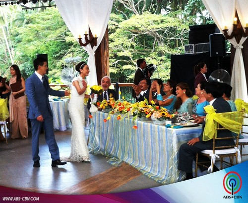 Behind-the-Scenes: Be Careful With My Heart Wedding Reception