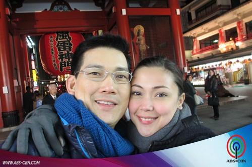 EXCLUSIVE: Japan Honeymoon Photos of Maya & Richard