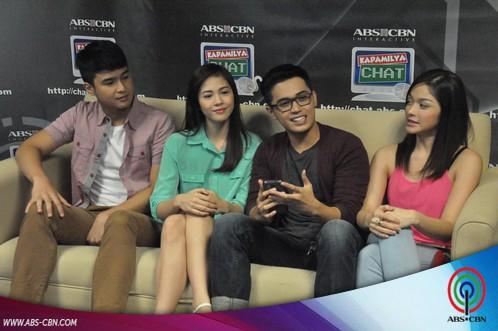 PHOTOS: Jerome, Janella, Marlo & Kazel at the Kapamilya Chat