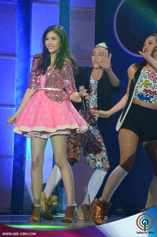 PHOTOS: MarNella's kilig prod number at the Kapamilya All Out ABS-CBN Trade Concert