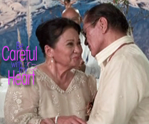 Manang Fe and Mang Anastacio get married